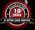 10 Year Guarantee